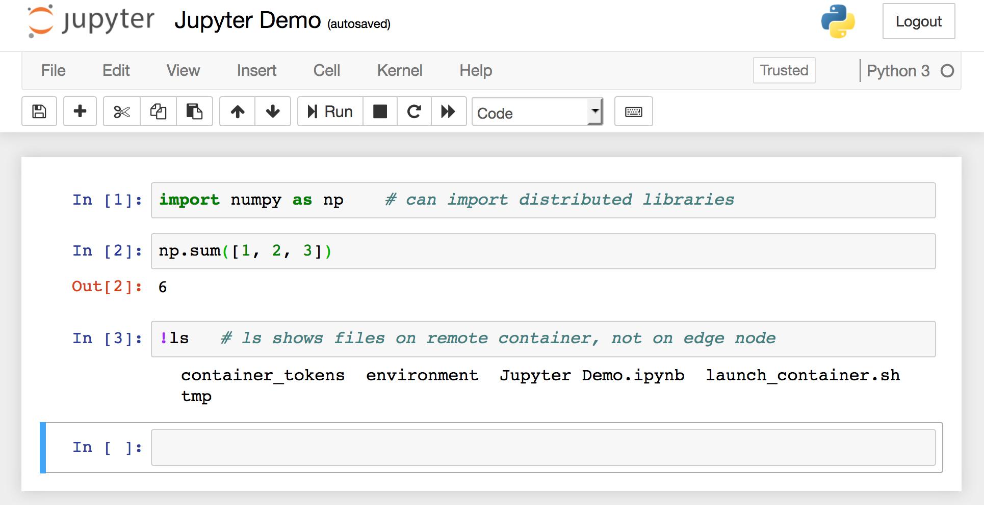 Running A Jupyter Notebook Ipython Kernel On A Compute Node